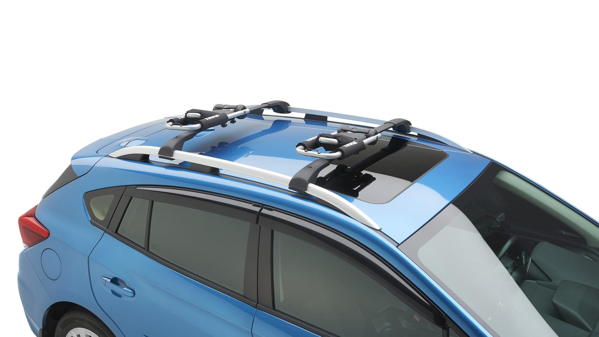 2017 subaru outback kayak carrier thule wide. Black Bedroom Furniture Sets. Home Design Ideas